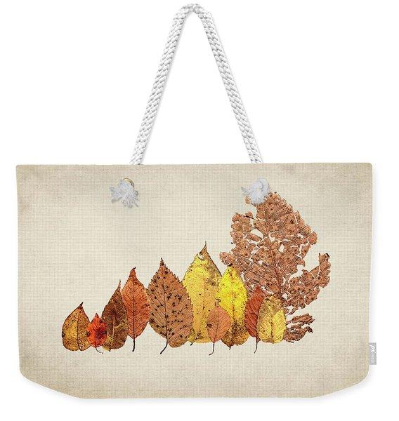 Forest Of Autumn Leaves II Weekender Tote Bag