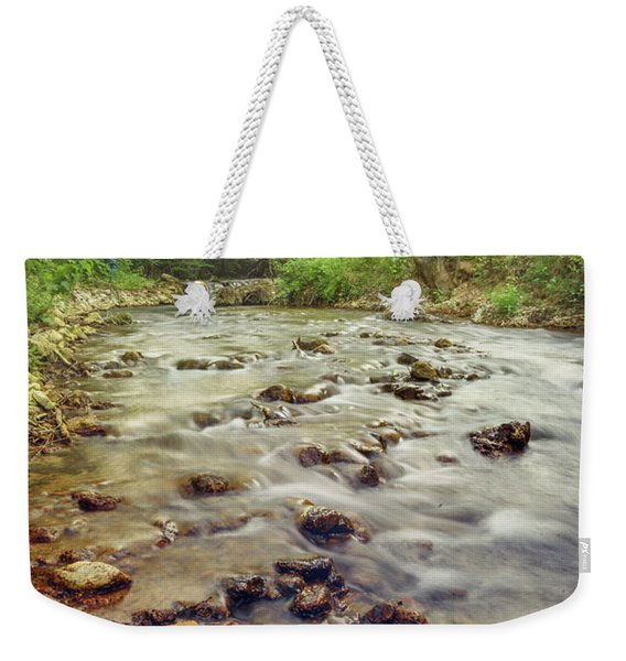 Forest River Cascades Weekender Tote Bag