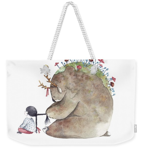 Forest Spirit Weekender Tote Bag