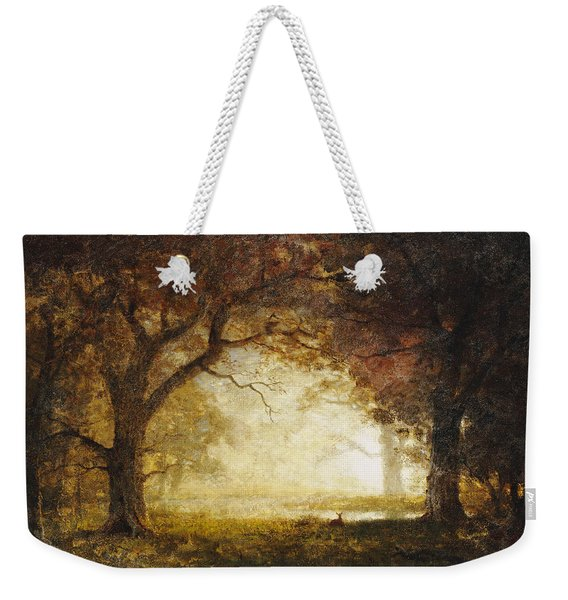 Forest Sunrise Weekender Tote Bag