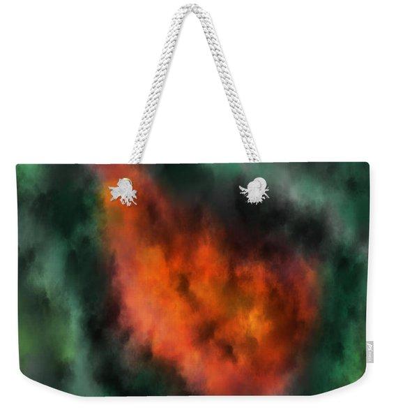 Forest Under Fire Weekender Tote Bag