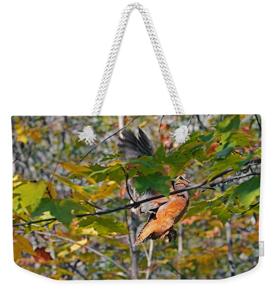 Forest's Timberdoodle Weekender Tote Bag