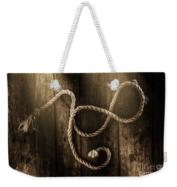 Forever A Sailor Weekender Tote Bag