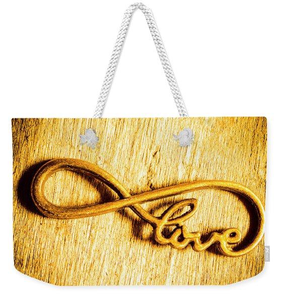 Forever Love Weekender Tote Bag
