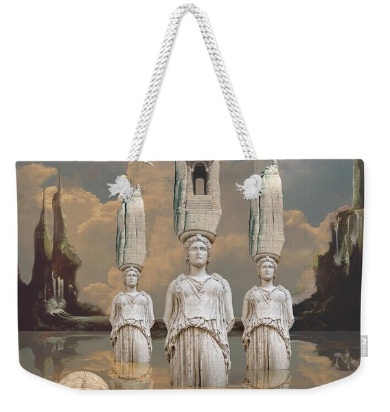 Forgotten Atlantis Weekender Tote Bag