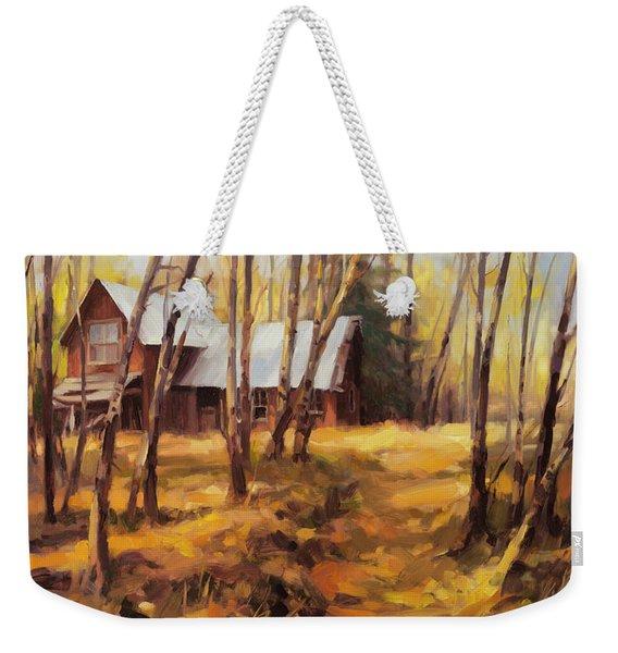 Forgotten Path Weekender Tote Bag