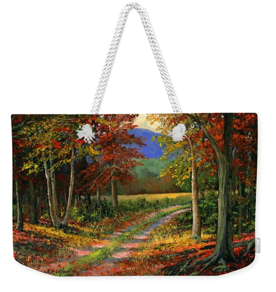 Forgotten Road Weekender Tote Bag