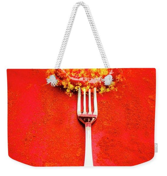 Forking Hot Food Weekender Tote Bag
