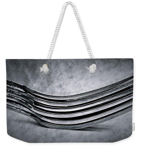 Forks - Antique Look Weekender Tote Bag