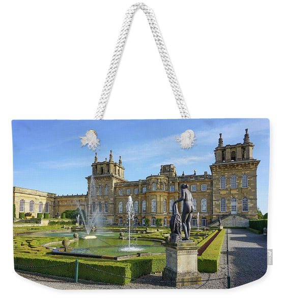 Formal Garden Blenheim Palace Weekender Tote Bag