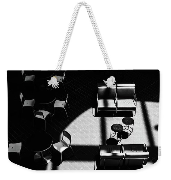 Weekender Tote Bag featuring the photograph Formiture by Eric Lake