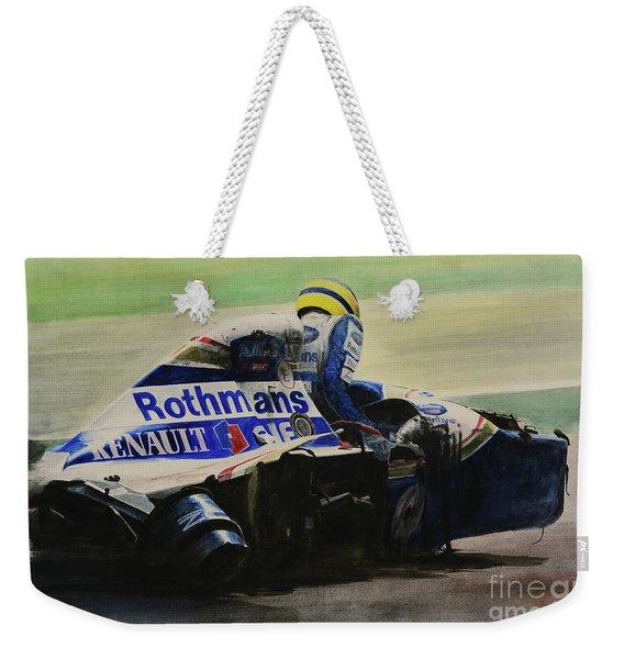 Formula Alone Weekender Tote Bag