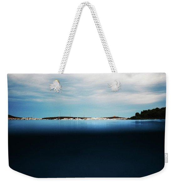 Fornells, Balearic Islands Weekender Tote Bag