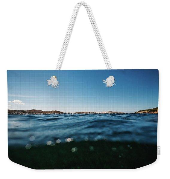 Fornells Bay Weekender Tote Bag