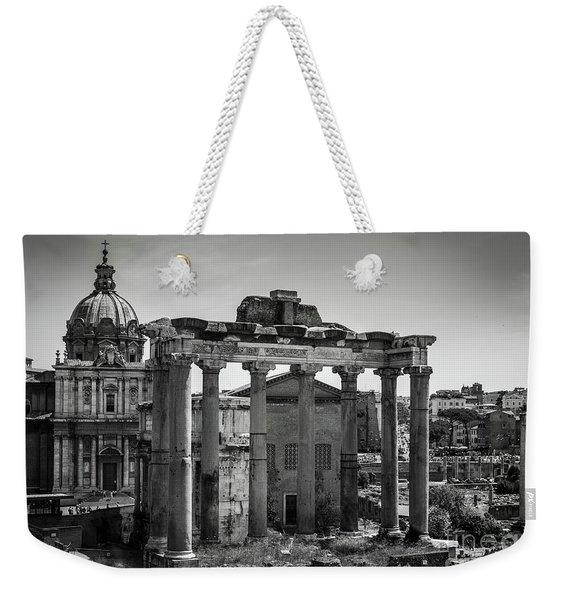 Foro Romano, Rome Italy Weekender Tote Bag