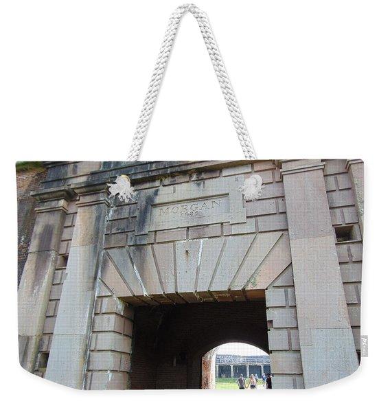 Fort Morgan Weekender Tote Bag