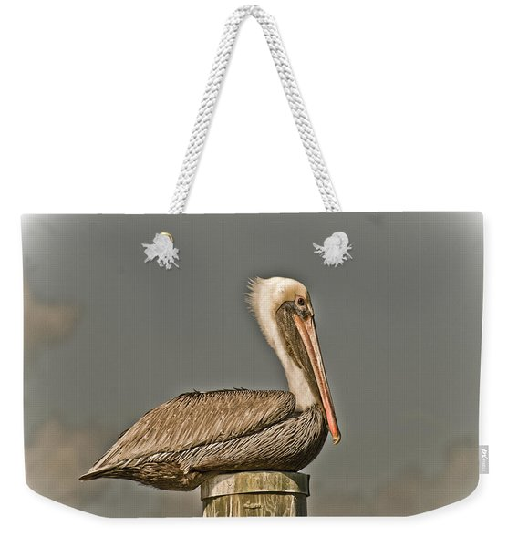 Fort Pierce Pelican Weekender Tote Bag