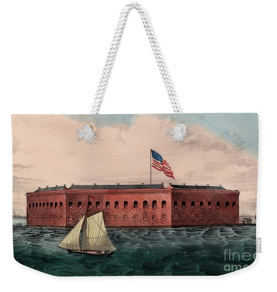 Fort Sumter, Charleston Harbor, South Carolina Weekender Tote Bag