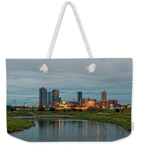 Fort Worth Color Weekender Tote Bag