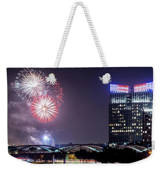 Fort Worth Fourth 2016 V2 Weekender Tote Bag