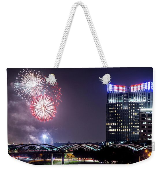 Fort Worth Fourth 2016 V2 Weekender Tote Bag