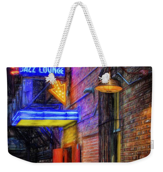 Fort Worth Impressions Scat Lounge Weekender Tote Bag