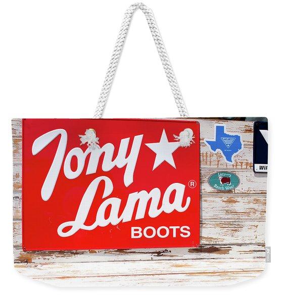 Fort Worth Stockyards Weekender Tote Bag