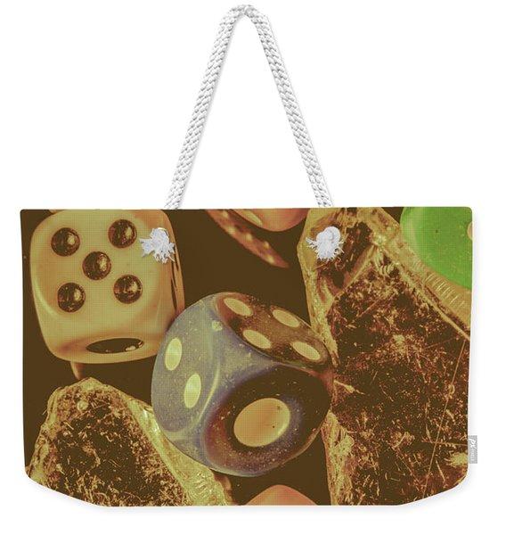 Fortune Faded Weekender Tote Bag