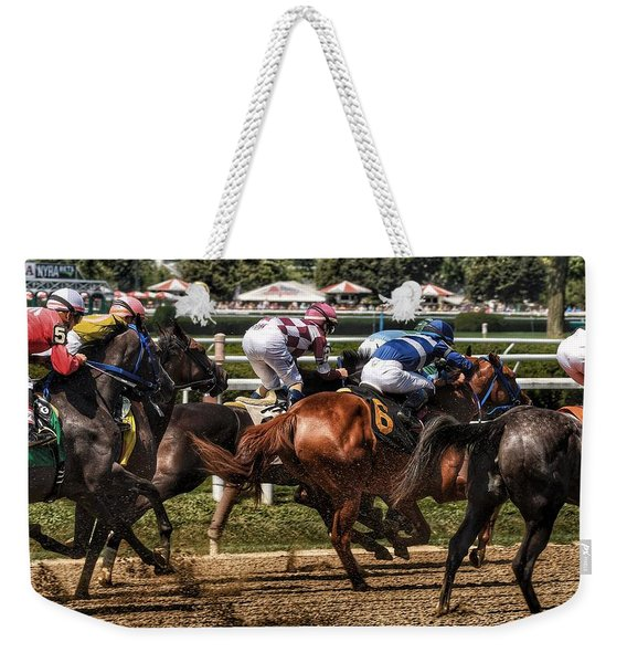 Forty Mph Weekender Tote Bag