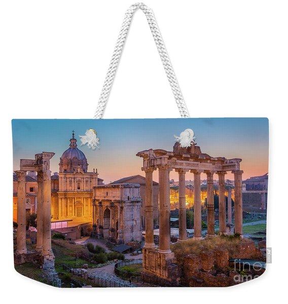 Forum Romanum Dawn Weekender Tote Bag
