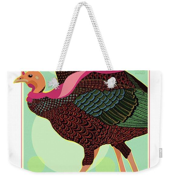 Foulards Weekender Tote Bag