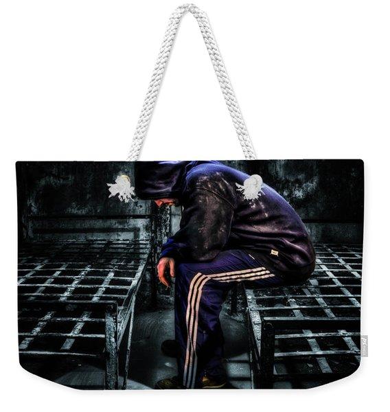 Found Guilty Weekender Tote Bag