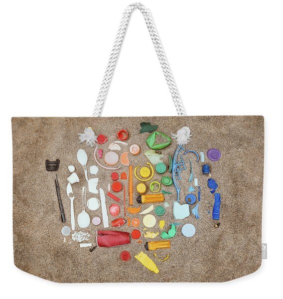 Found Items Rainbow Weekender Tote Bag