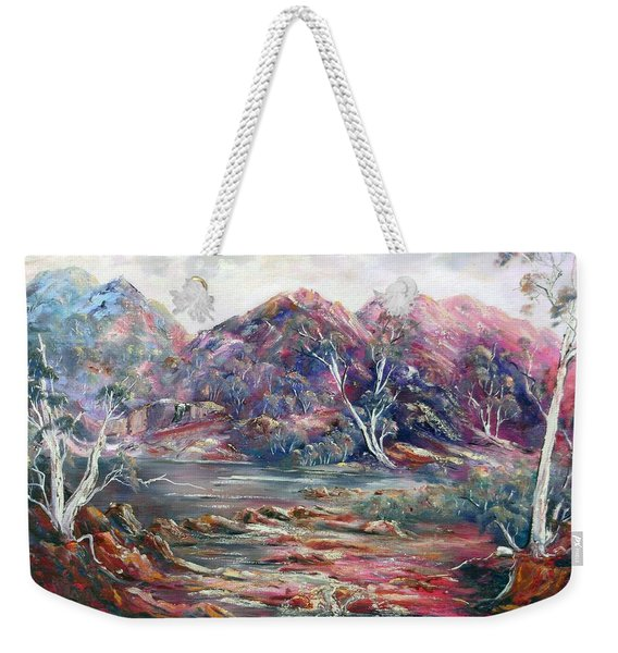 Fountain Springs Outback Australia Weekender Tote Bag