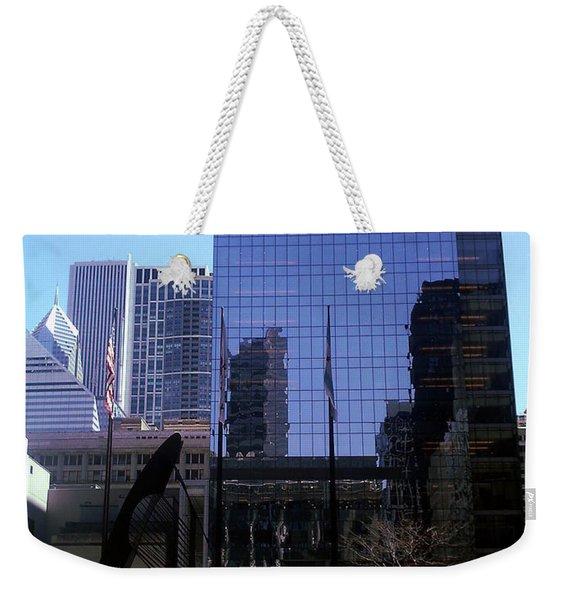 Fountain View Weekender Tote Bag