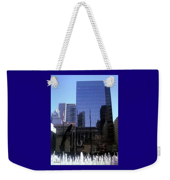 Fountain View Weekender Tote Bag