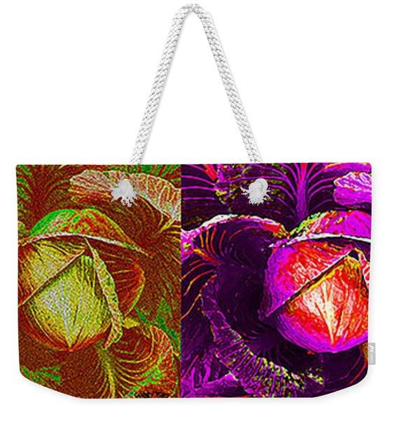 Four Cabbage  Weekender Tote Bag