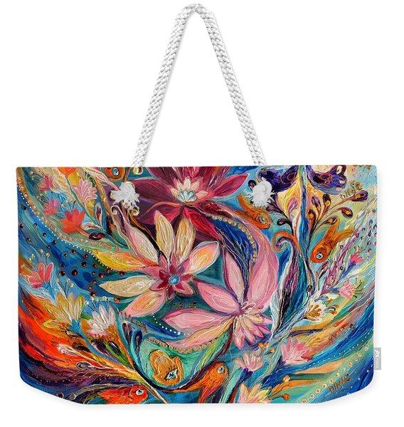Four Elements IIi. Water Weekender Tote Bag