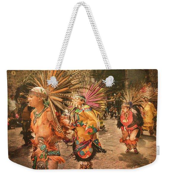 Four Indian Dancers Weekender Tote Bag