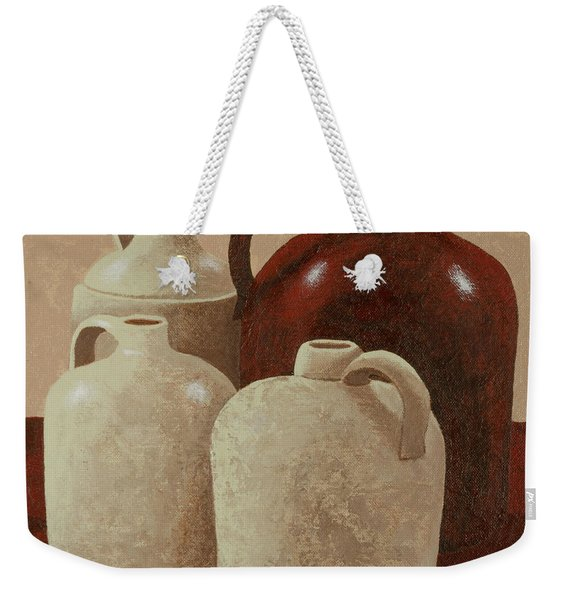 Four Jugs Weekender Tote Bag