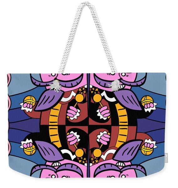 Four Kings Weekender Tote Bag