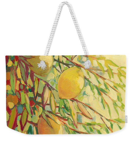 Four Lemons Weekender Tote Bag