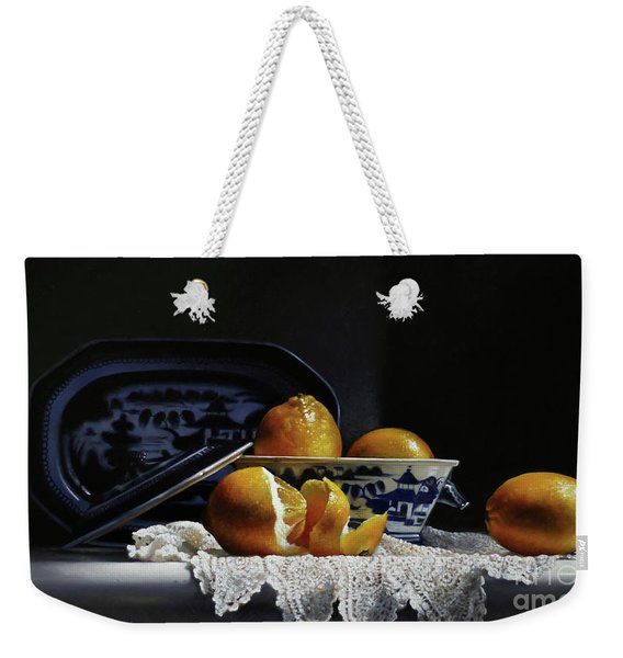 Four Lemons With Canton Weekender Tote Bag