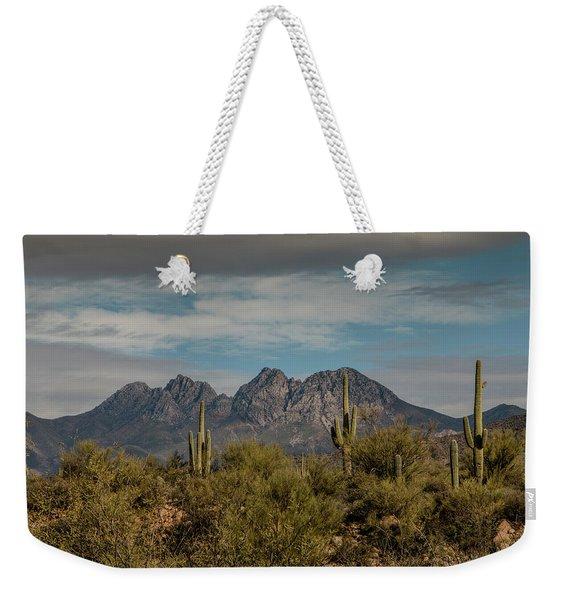 Four Peaks Weekender Tote Bag
