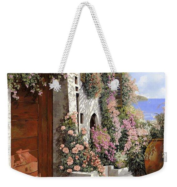 four seasons- spring in Tuscany Weekender Tote Bag