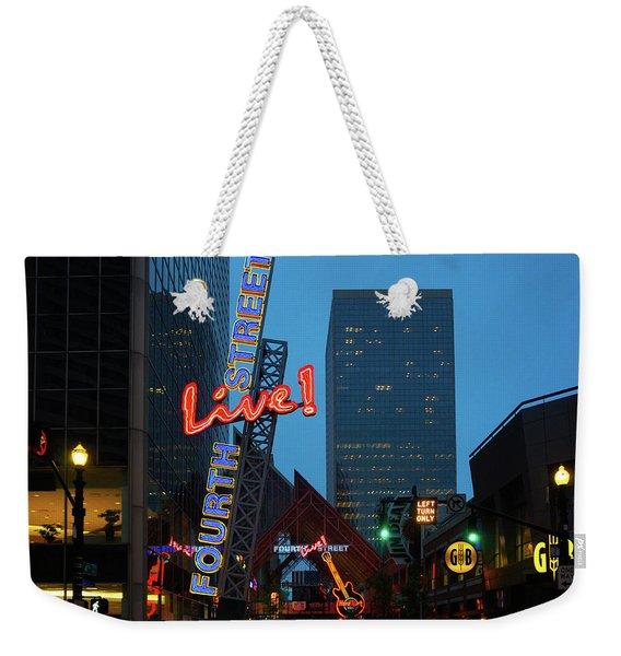 Fourth Street Live Weekender Tote Bag