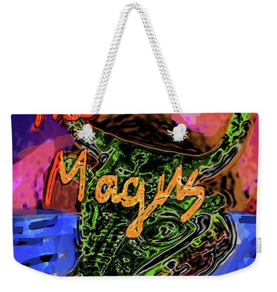 Fowles Magus Poster  Weekender Tote Bag