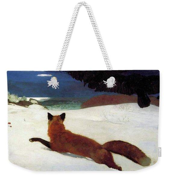 Fox Hunt Weekender Tote Bag