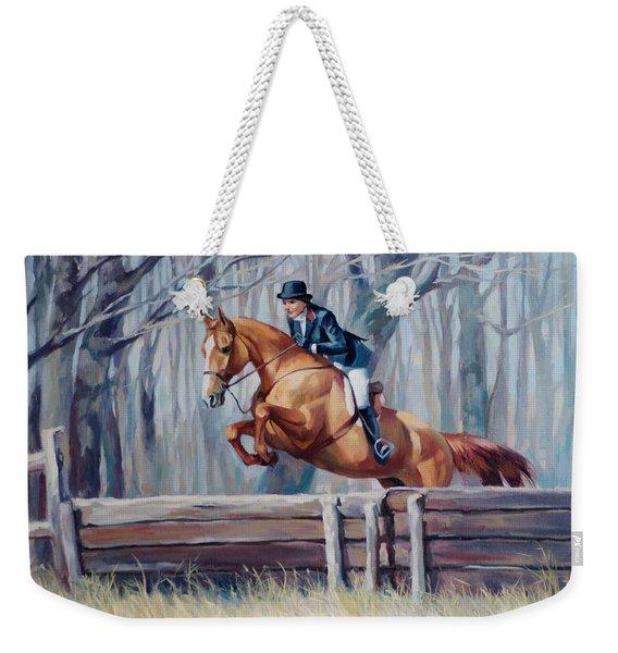 Fox Hunter Weekender Tote Bag