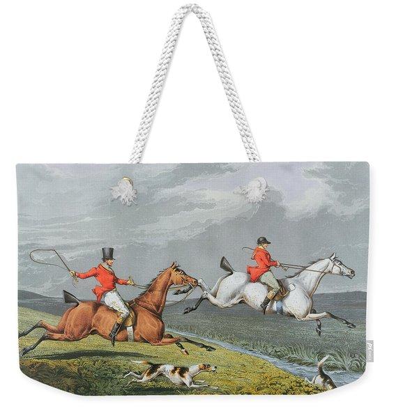 Fox Hunting - Full Cry Weekender Tote Bag